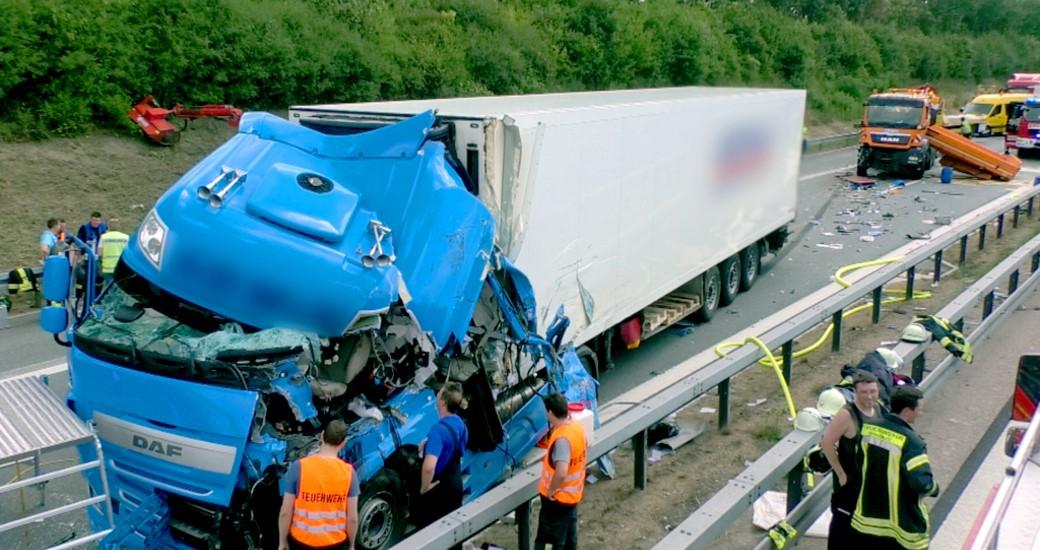A93 Unfall Heute