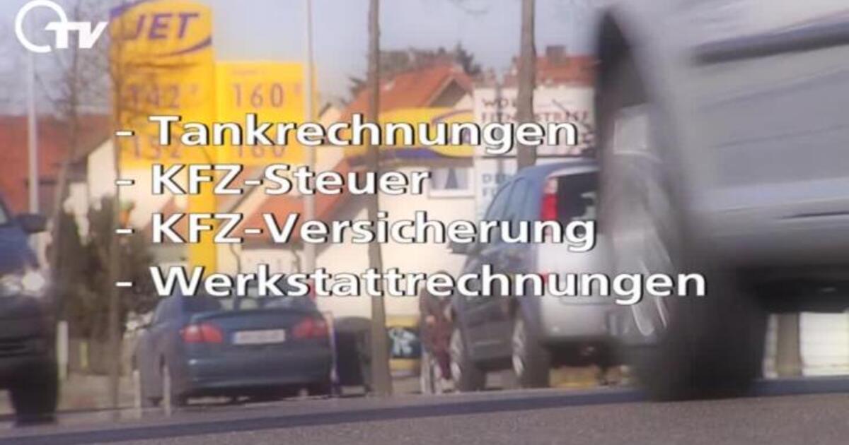 Kilometergeld Berechnen : steuertipp kilometergeld richtig berechnen oberpfalz tv page 347 ~ Themetempest.com Abrechnung