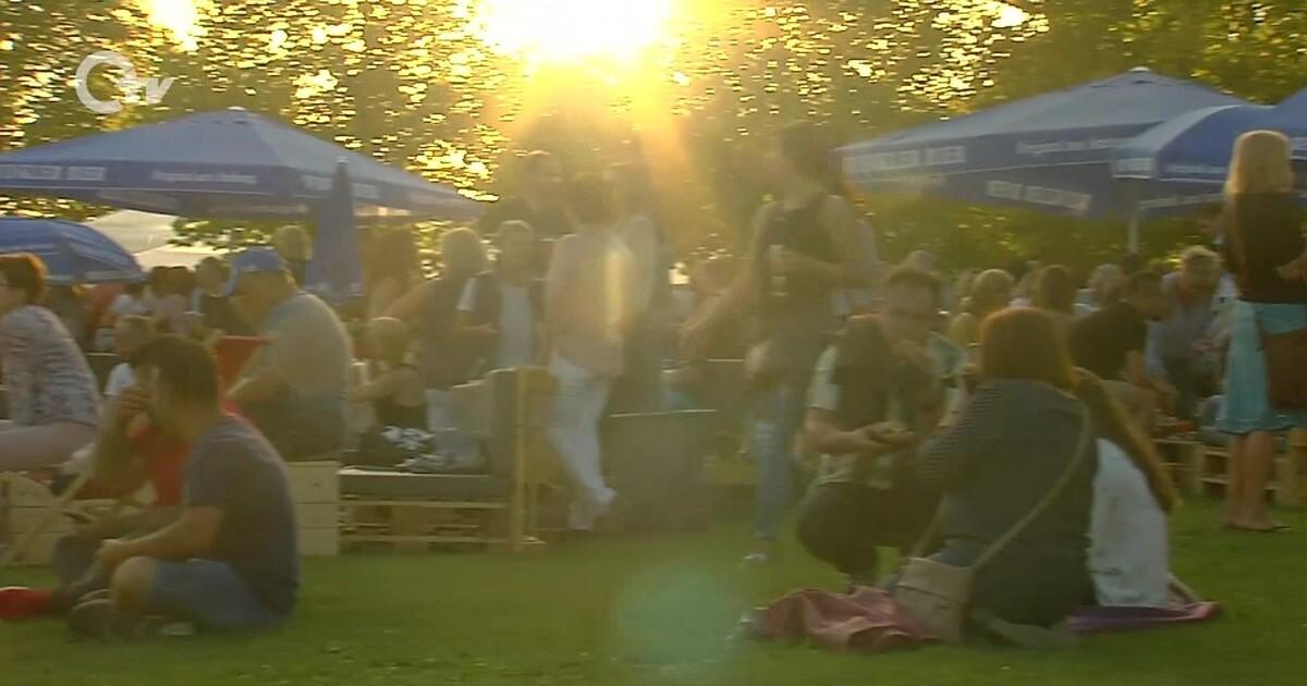 Sommer In Der Stadt Amberg