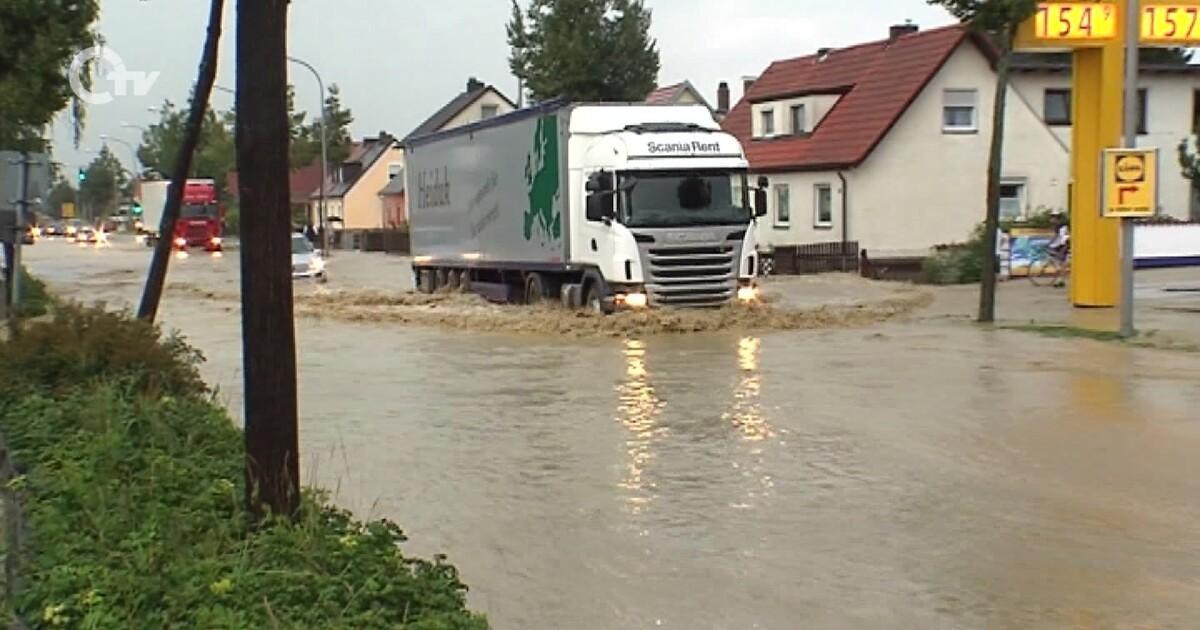 Unwetter Oberpfalz Gestern
