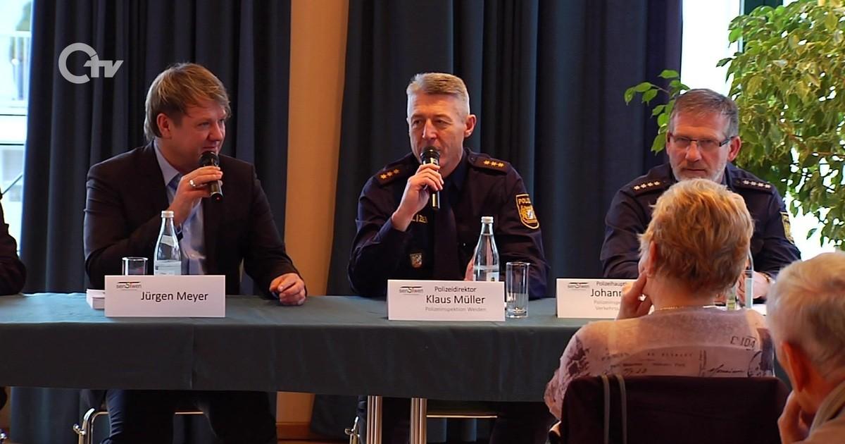 Weiden: Podiumsdiskussion über Seniorensicherheit - Oberpfalz TV