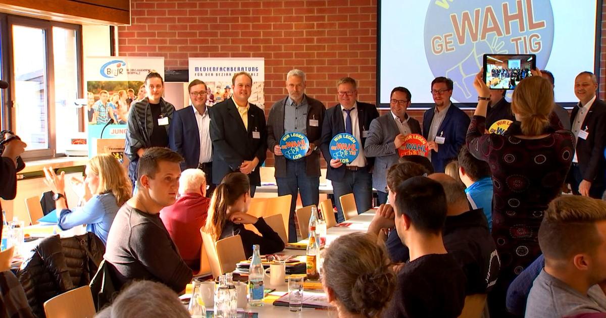 Amberg: Versammlung des Bezirksjugendrings Oberpfalz - Oberpfalz TV