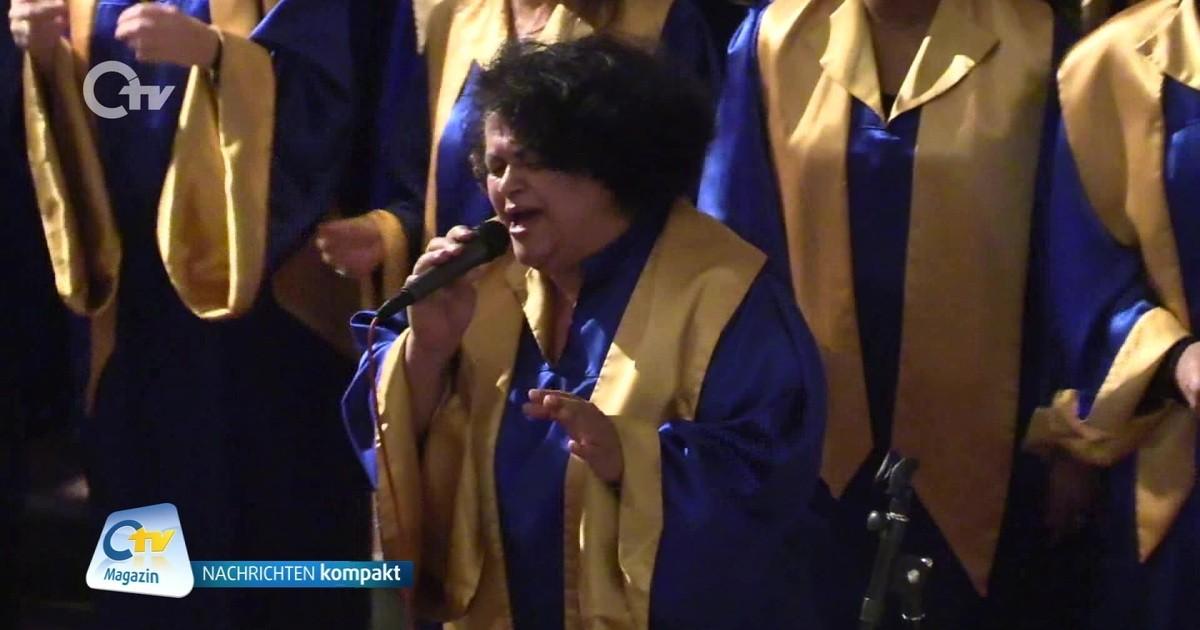 "Weiden: Gospelkonzert ""Joy to the World"" - Oberpfalz TV"