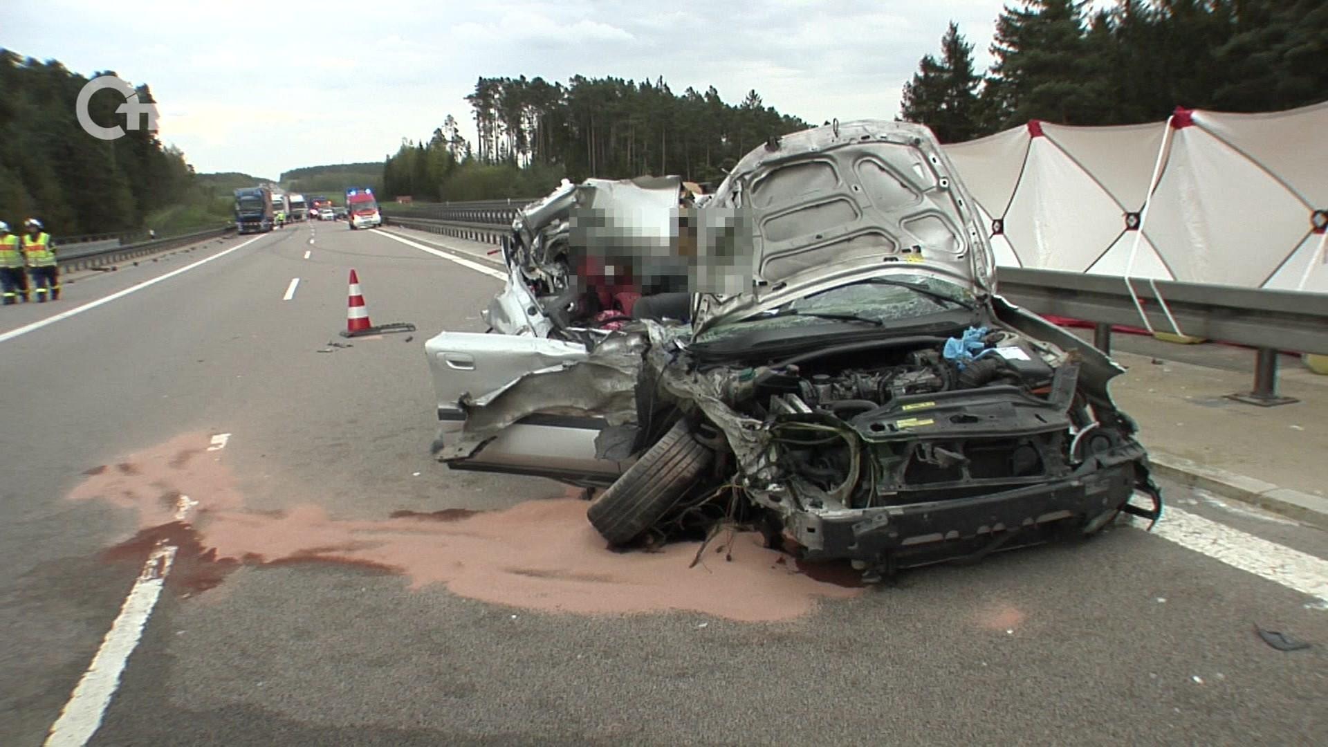 Tödlicher Verkehrsunfall auf der A6 | Oberpfalz TV