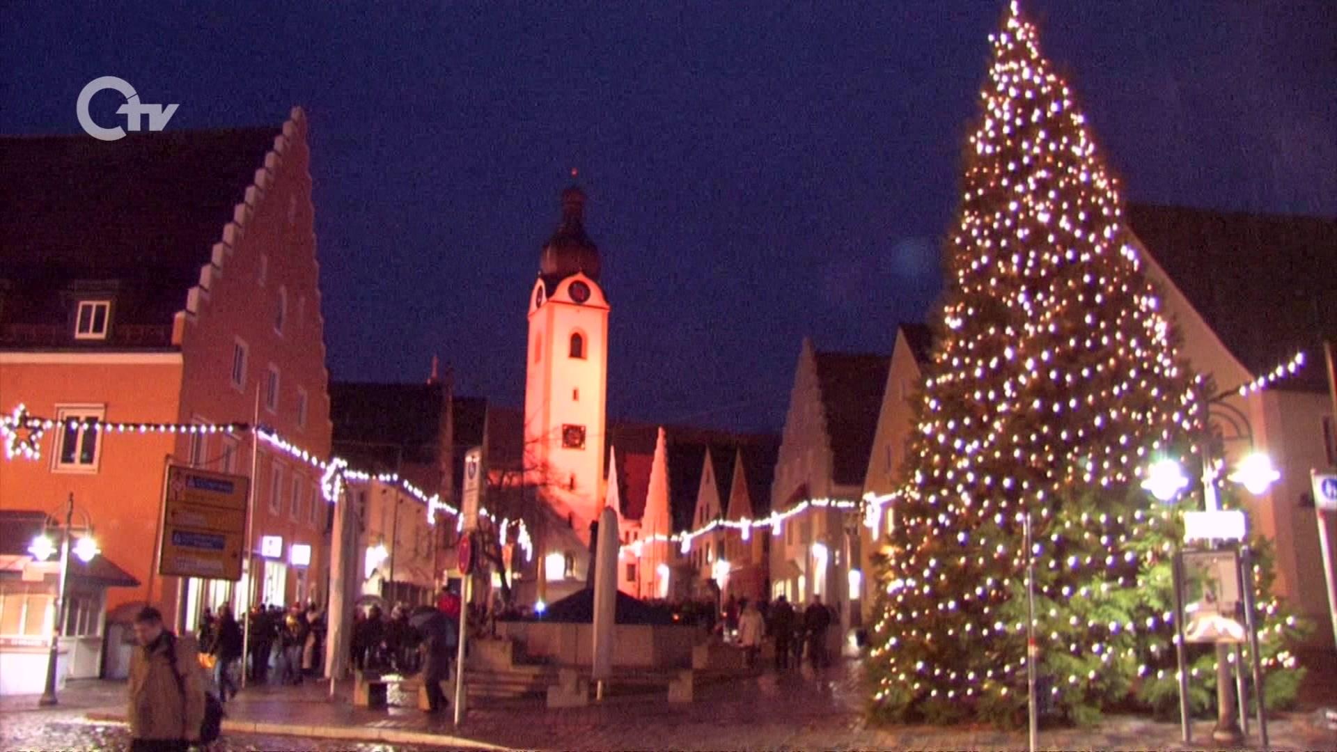Eröffnung des Weihnachtsmarktes | Oberpfalz TV