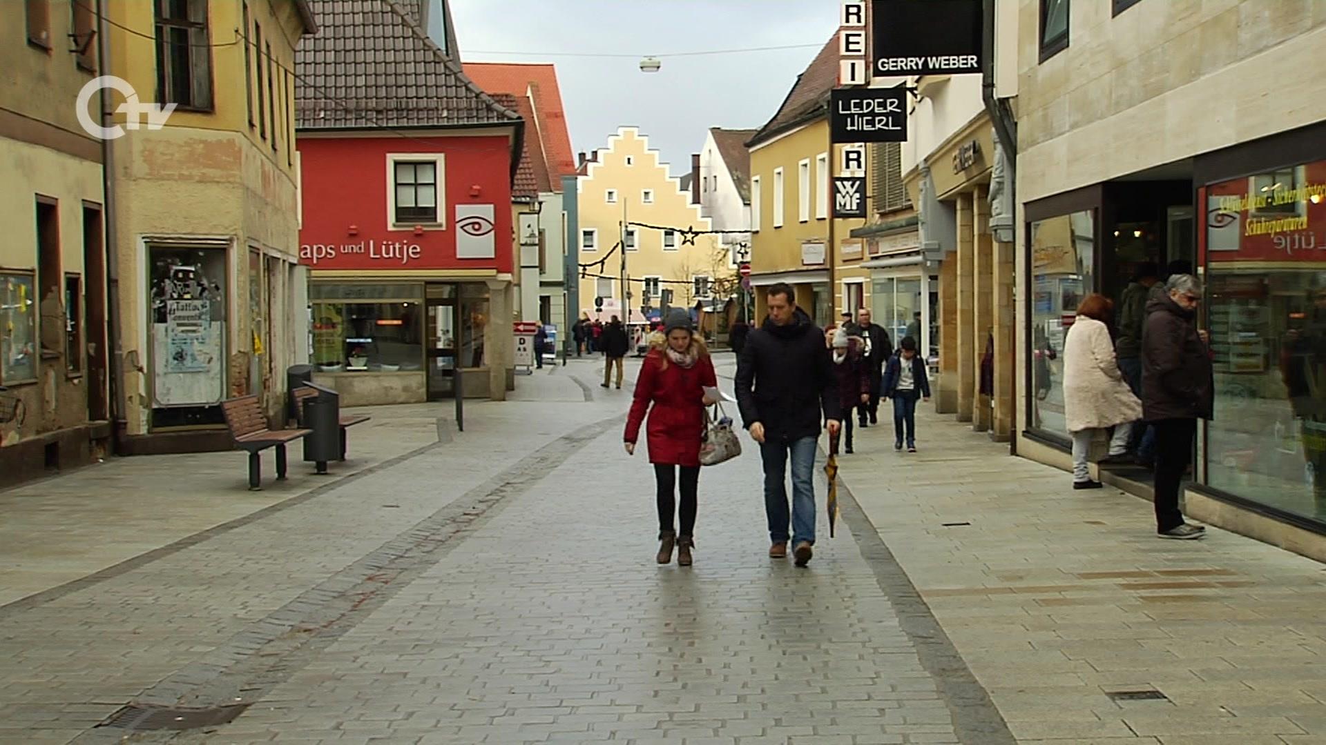 Weg frei für die Fußgänger in der Schwandorfer Friedrich-Ebert ...